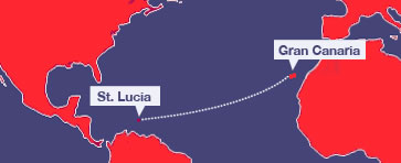 ARC route map