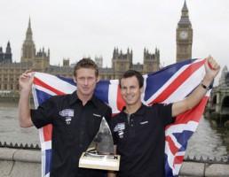 L-R Skandia Team GBR silver medal winners Joe Glanfield and Nick Rogers. onedition