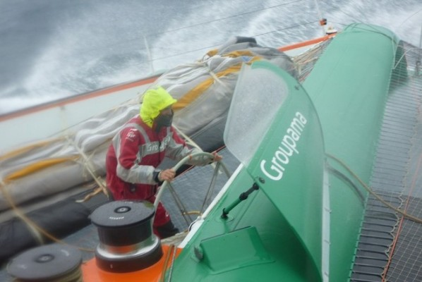 On board Groupama 3