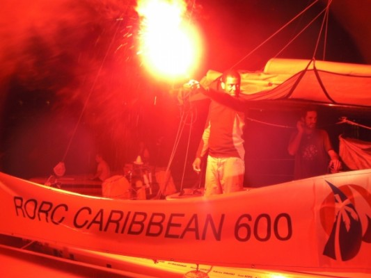 2010 RORC Caribbean 600 last boat
