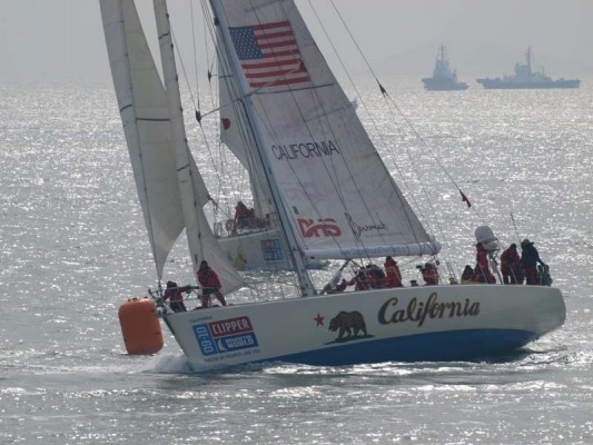 Clipper Round the World Race, California