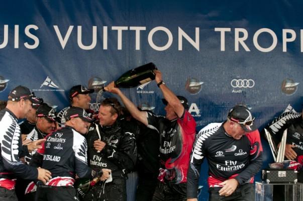 ETNZ Celebrate LVT Win