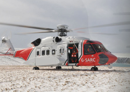 SAR helicopter