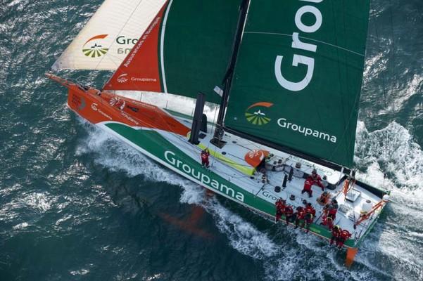 Volvo Ocean Race, Groupama 4