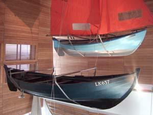 Shetland model boats