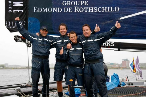 Yann Guichard, Crew of Edmond de Rothschild Group