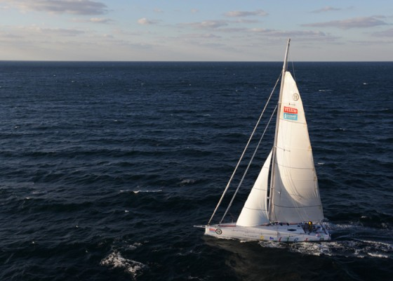VELUX 5 OCEANS around the world race.