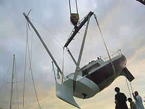 Sinking boat art 5