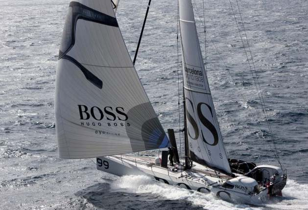 Barcelona World Race 2011, Hugo Boss