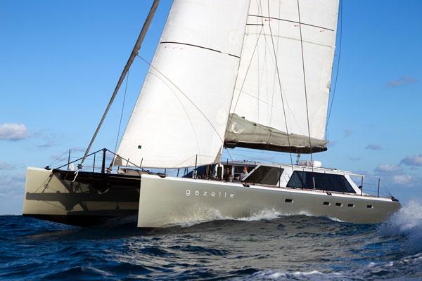 Gunboat 66 Video boat test