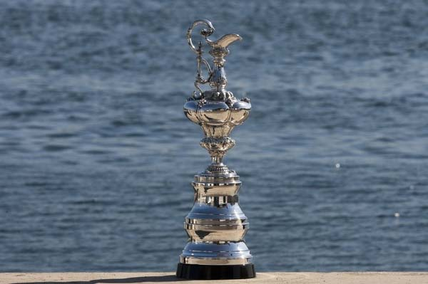 Image result for america's cup trophy