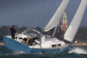 Hanse 445 boat test, the Solent