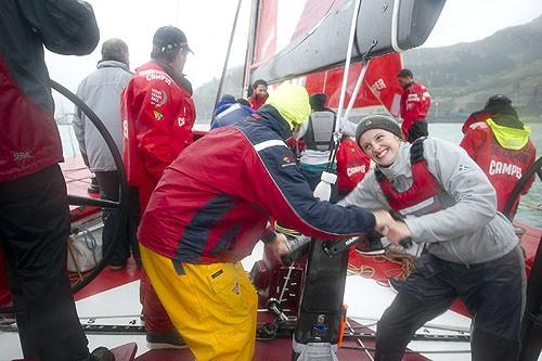 Volvo Ocean Race, CAMPER head round New Zealand