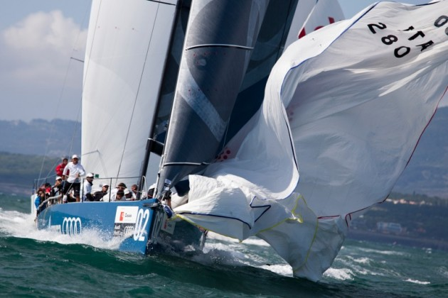 Audi Medcup 2011, Azzure on day two