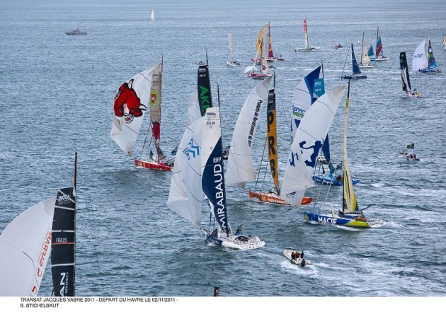 Transat Jacques Vabre begins - Yachting World