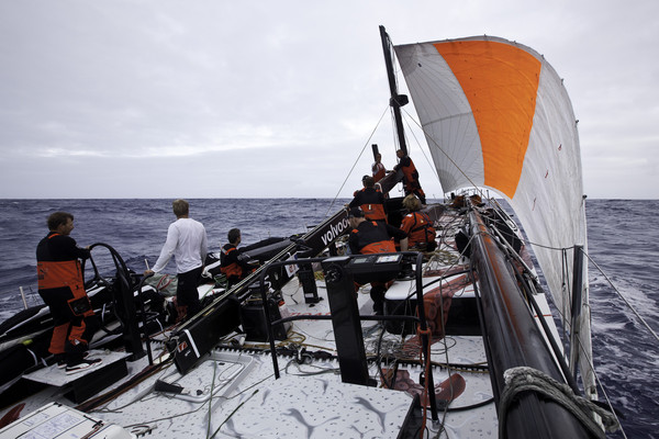 abc81b7b7839 PUMA Ocean Racing powered by BERG reported that they had suffered a broken  mast on the first leg of the Volvo Ocean Race 2011-12