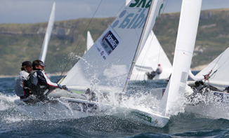 Iain Percy and Andrew Simpson at Sail for Gold