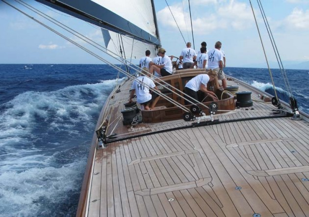Yachting World onboard Lionheart