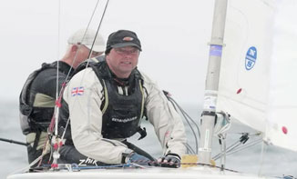 Michael McIntyre and James Grant at Skandia Sail for Gold