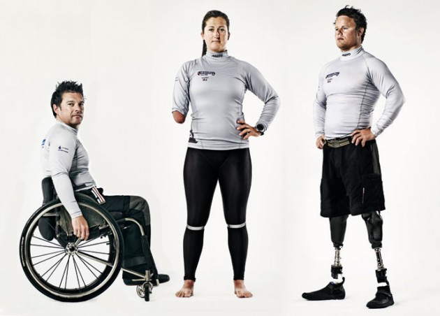 Olympic sonar team