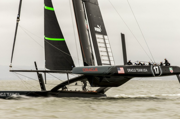 americas cup latest results
