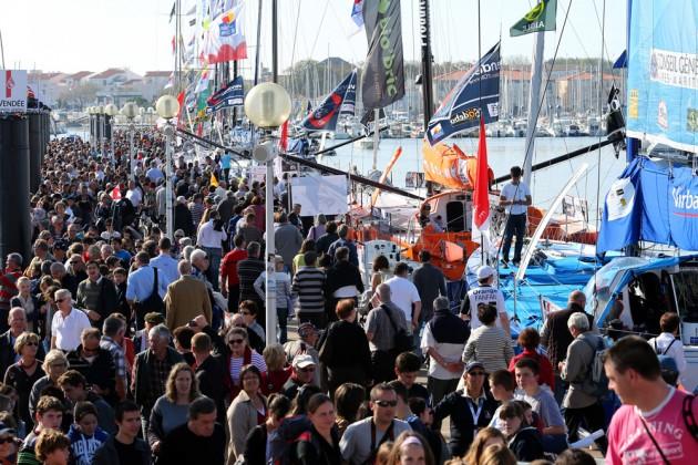 Vendee Globe Village opening 2012