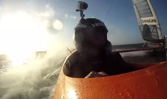 Sailrocket onboard