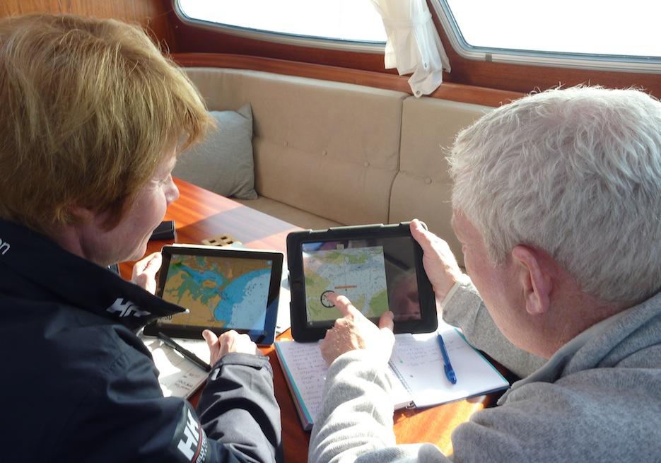 Testing iPad charting software