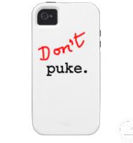 Don't puke