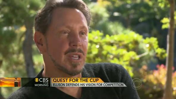 Ellison interview CBS