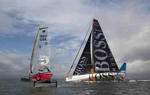 Volvo Speed sailing challenge