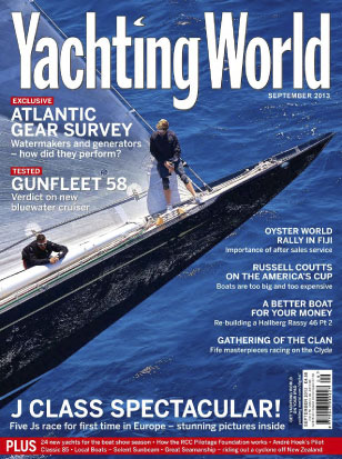 Yachting World Sept 2013 cover
