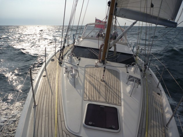 Oyster 54 W Ireland cruise