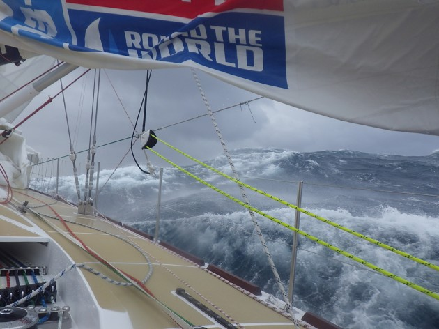 Clipper in the Southern Ocean