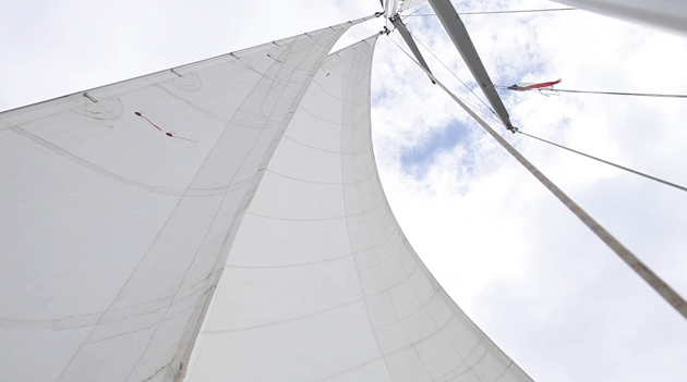 Skip Novak's Storm Sailing Techniques Part 7: sail design