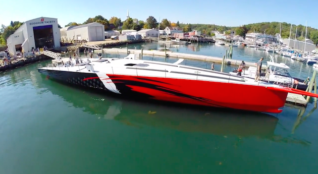 Launched The Fastest Monohull Ever Yachting World
