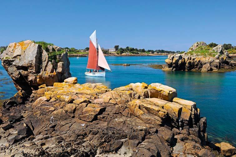 Cruising in Brittany