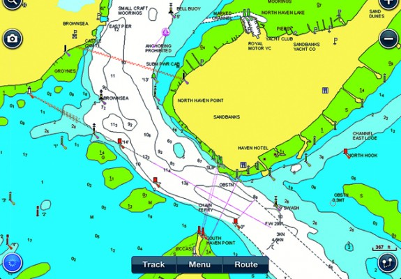 Navionics hd ipad app yachting world we tested this market leading navionics ipad navigation app as part of a group test of portable chartplotting software vector charts apps for each gumiabroncs Image collections