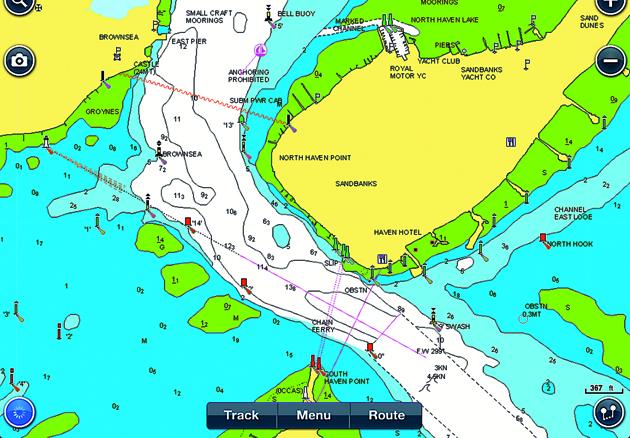Navionics hd ipad app yachting world navionics hd gumiabroncs Choice Image