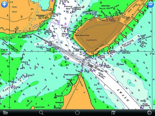 Memory map ipad app reviewed yachting world memory map ipad app gumiabroncs Choice Image