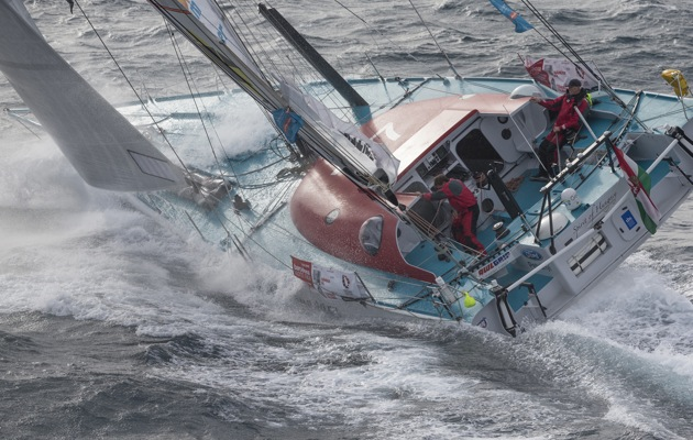 Barcelona World Race 2014-15 Barcelona Trainings Spirit of Hungary Nandor FaBWR1415D13_7994