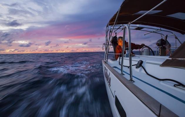 Tor Johnson sailing