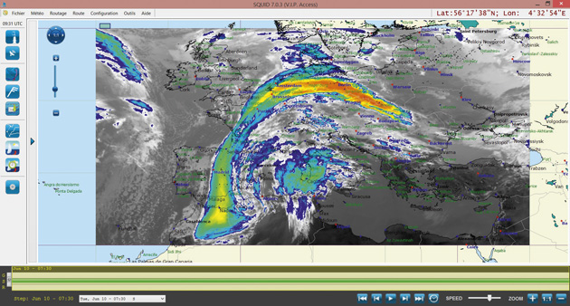 Squid Weather Software Program Review Yachting World