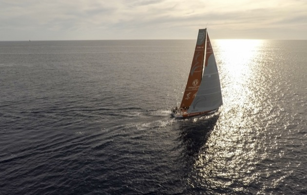 Dongfeng Volvo Ocean Race drone