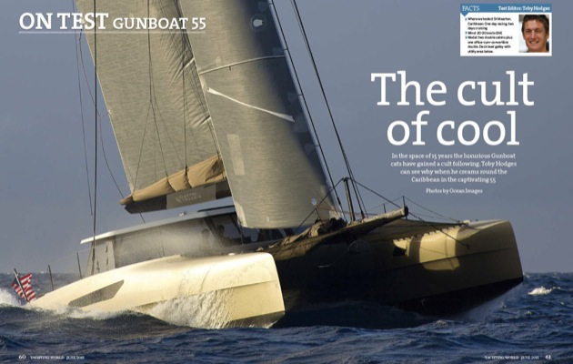 Gunboat 55 Video