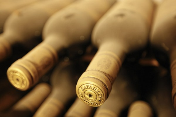 The Squadron boasts an excellent wine cellar
