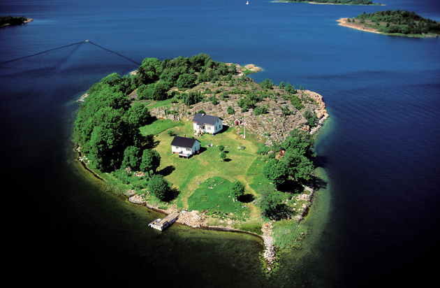The Tiny Islands Often Just Have One House Credit Alamy