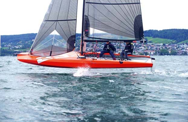 the foiling phenomenon  the history of foils  u2013 yachting world