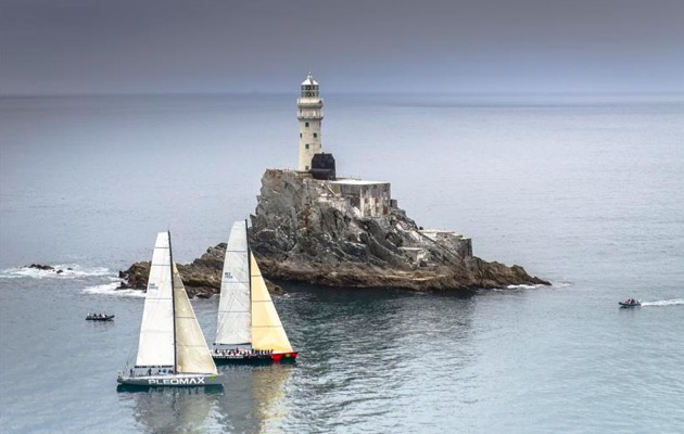 Ghosting round the Fastnet Rock