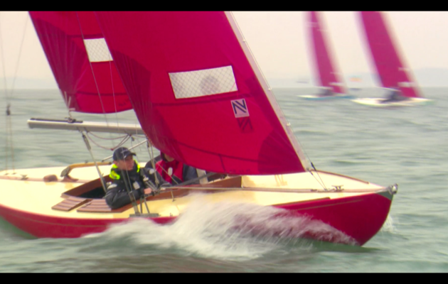 Video story: sailing a Bembridge Redwing at Cowes Week 2015 – a family class that continues to develop